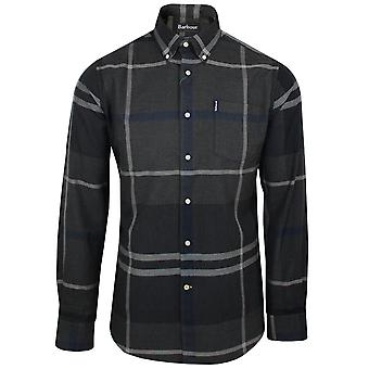 Barbour men's graphite dunoon shirt