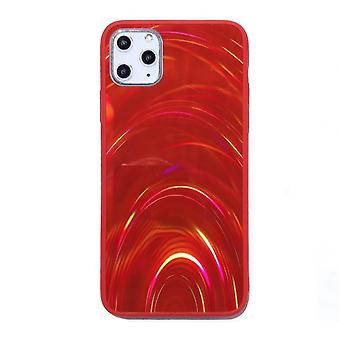 Mobilskal för iPhone 11 Pro Max - Holografisk, röd