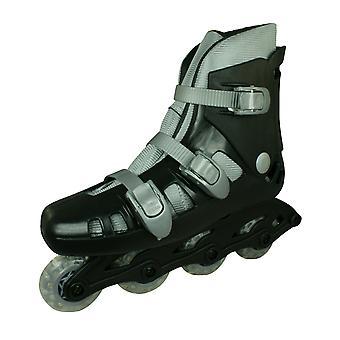 Skeelers Kids Roller Blades / In-Line Skates - Black and Grey