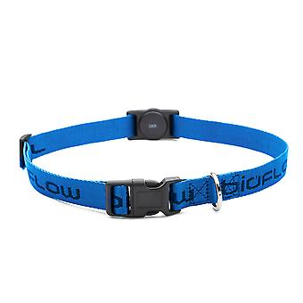 Magnetic Dog Collar Blue (Maat: Groot - tot 65 cm)