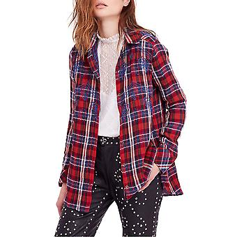Free People | Magical Plaid Buttondown