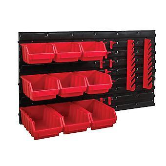 Faithfull Storage Bin Set, 12 Piece