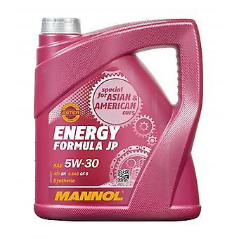 Mannol 4L Engine Oil Energy Formula JP 5W-30 API SN ILSAC GF-5 GM dexos 1