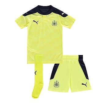 Puma Boys Newcastle United Away Mini Kit 2020/21 Football Jersey Short Socks