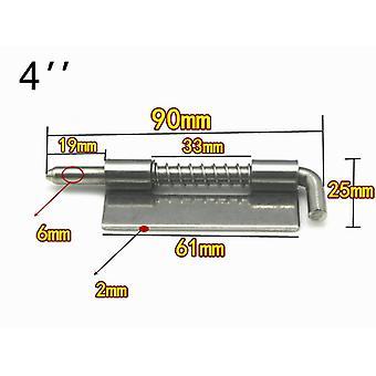 Roestvrijstalen 304 veerscharnier, industriële kast voor vlak lassen, deur
