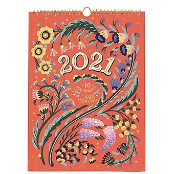 2021 Floral Typography by Jill de Haan by Jill De Haan