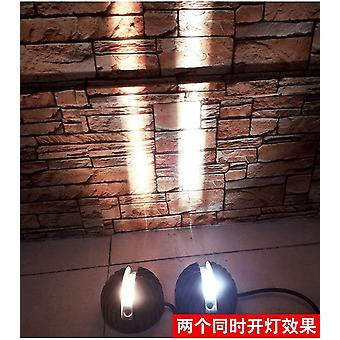 180 Narrow Beam Outdoor Wall Effect Light, Led Architectural Facade Wall Sconce