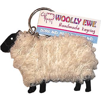 Woolly Ewe Key Ring Lewis by Hairy Coo