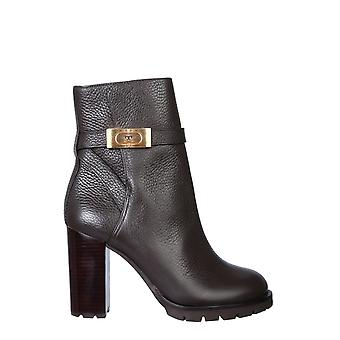 Tory Burch 74355200 Women's Brown Leather Ankle Boots