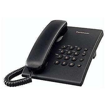 Grondkabel telefoon Panasonic KX-TS500EXB Zwart