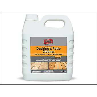 Barrettine Complete Patio & Decking Cleaner 4L