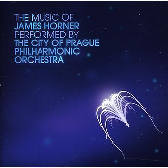 City of Prague Philharmonic Orchestr - The Music of James Horner [CD] USA import