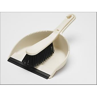 Addis Stiff Dustpan Set Leinen 510404