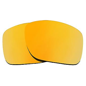 Replacement Lenses for Oakley Turbine Sunglasses Anti-Scratch Gold Mirror