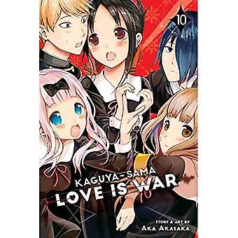 Kaguya-sama: Love Is War, Vol. 10 (Kaguya-sama: Rakkaus on sotaa)