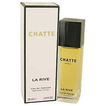 La Rive chatte door La Rive Eau de parfum spray 3 oz (vrouwen) V728-538112