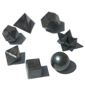 هندسة سبعة X أسود Agate مجموعة X 1