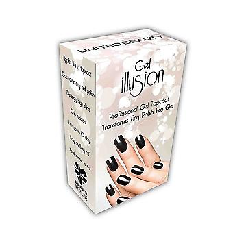 Gel Illusion Top Coat - Clear