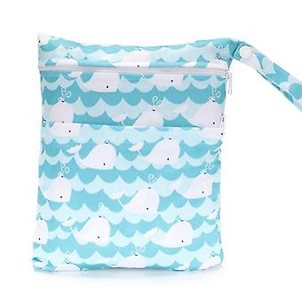 Latest Pattern Diaper, Waterproof And Moisture Proof Double Zipper Design Dry