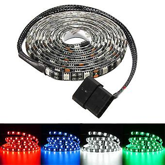 2M Waterproof 5050 LED Flexible Strip Background Light PC Computer Case DC12V