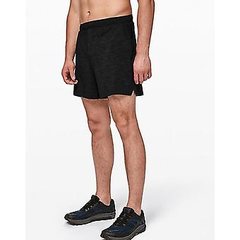 Running shorts black heather
