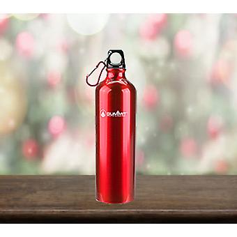 Summit 750ml Water Bottle with Lid - 1 Unit Red Bottle