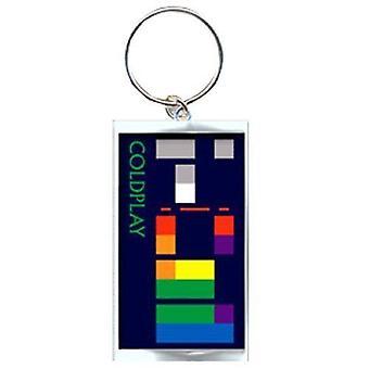 Coldplay Keyring sleutelhanger X & Y Album nieuwe ambtenaar