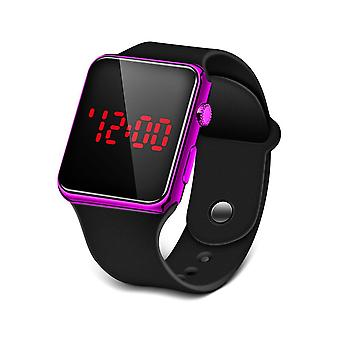 Sport Digital, Led, Silicone Electronic Couple Horloges / vrouwen