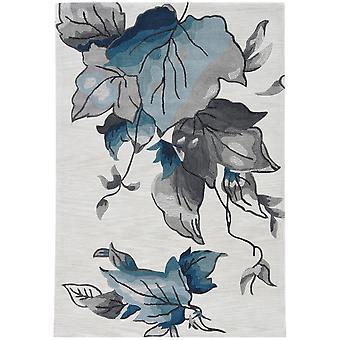 """CORAL 4171 5'X 7'6"""" / Tapis bleu ivoire"""