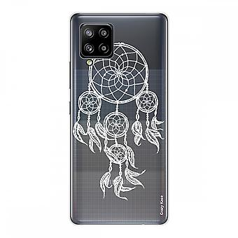 Scafo per Samsung Galaxy A42 5g in Silicone Soft 1 mm, cattura sogni bianchi