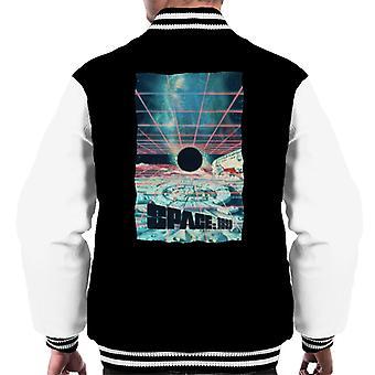 Space 1999 Black Sun Men's Varsity Jacket