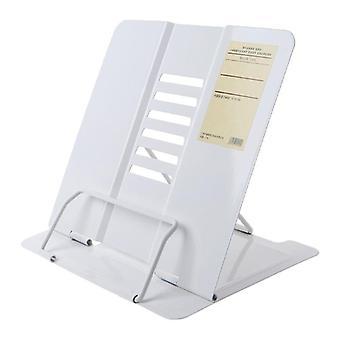 Bærbar metal justerbar læsebog holder