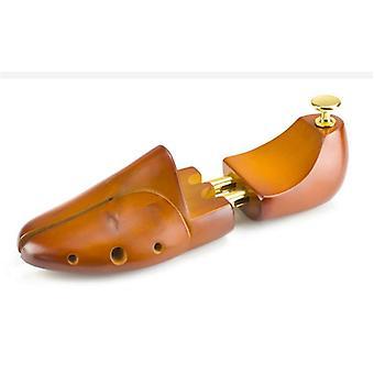 1 pari säädettävät kenkäpuut massiivipuu kengänhoito paarit Shaper