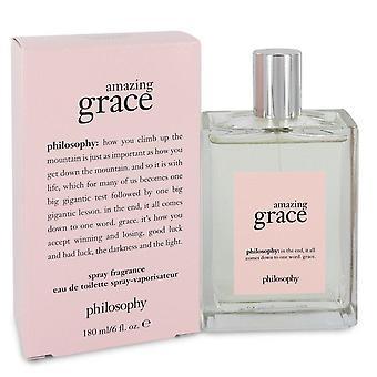 Amazing Grace Eau De Toilette Spray By Philosophy 6 oz Eau De Toilette Spray