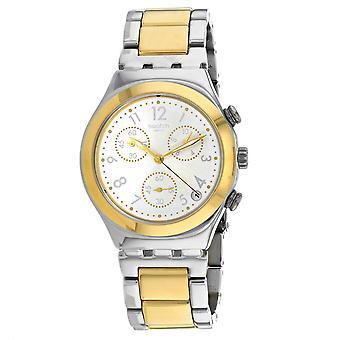 Swatch Men's Dreamnight Silber Zifferblatt Uhr - YCS590G