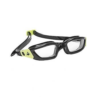 Aqua Sphere Kameleon Adult Swim Goggle-Clear Lens-Black/Lime