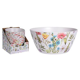 Excellent Housewares Bamboo Fibre Bowl Lou Lou Flower 700ml 177401220