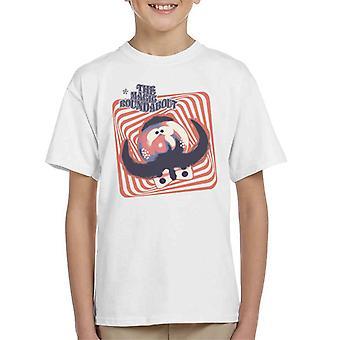 Den magiska rondellen Zebedee Psychedelic Lines Kid's T-Shirt