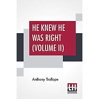 He Knew He Was Right (Volume II) by Anthony Trollope - 9789353365561
