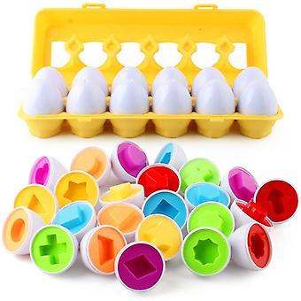 Baby Montessori Educational Egg Puzzle Game