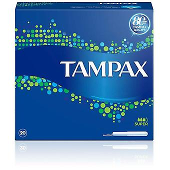 Tampax Tampon Classique Super 20 Unités