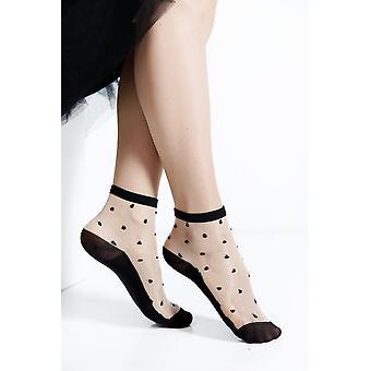 Esma Sheer Black Socks