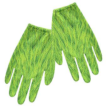 The Grinch Cosplay Gloves Halloween Toys For Children Green