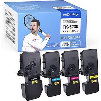 HanFei Kompatibel Kyocera TK-5230 Toner fr Kyocera Ecosys M5521CDN M5521CDW P5021CDN