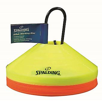 Spalding Marking Discs Basketball Home Court Cones Game Training Accessory