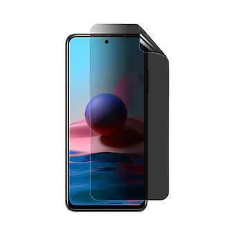 Celicious Privacy Plus 4-Wege Anti-Spy Filter Screen Protector Film kompatibel mit Xiaomi Redmi Note 10