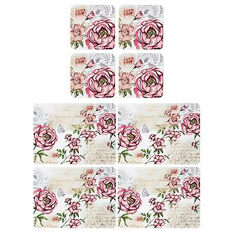 English Tableware Co. Floral Placemats and Coasters
