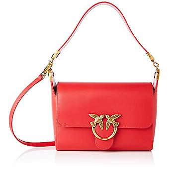 Pinko, LOVE SHOULDER BAG SIMPLY VIT.S Donna, R43_ROSSO PURO, U