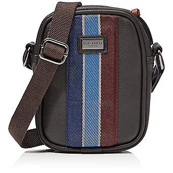 Ted Baker Webbing Mini Flight Bag Men's 0, Xbrnchocol, One Size