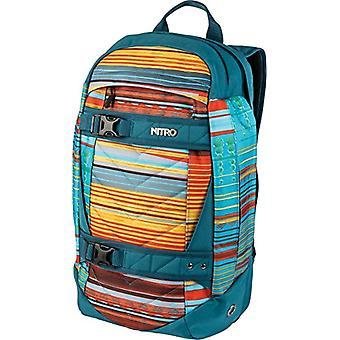 Nitro Snowboards 2018 Casual Backpack, 50 cm, 27 liters, Multicolored (Canyon)